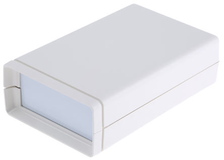 IP65 Hand Held Enclosure, ABS, White, 114 x 72 x 33mm