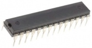 Microchip PIC18F26J11-I/SP, 8bit PIC Microcontroller, 48MHz, 64 kB Flash, 28-Pin SPDIP