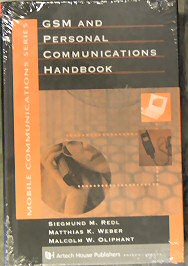 GSM: GSM and Personal Communications Handbook
