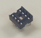 LOW PROFILE DIL IC SOCKETS-8 PIN