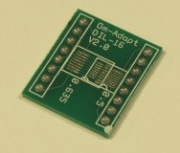 DIL16 Surface Mount Adaptor