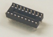 LOW PROFILE DIL IC SOCKETS-18 PIN