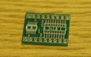Surface Mount to DIL Adaptor - 18pin - Bare PCB