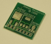 SOT23 Surface Mount Adaptor