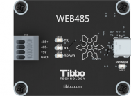 Web485: WebUSB-to-RS485 Board